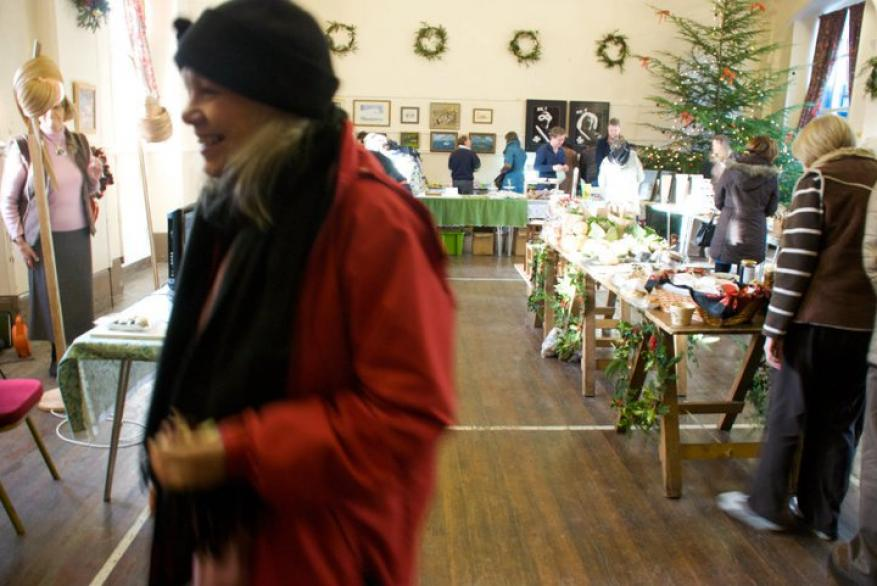 The Coniston Institute farmers market and art fair